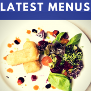 Our latest Lunch and Dinner menus at The Waterfront Restaurant, Kirkcaldy